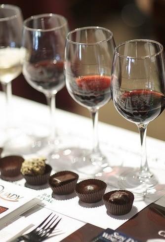 Wine, Chocolate & Cheese Mixer