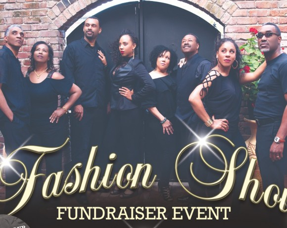 Fashion Show Fundraiser Flyer